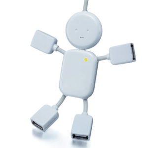Custom USB Man Hub