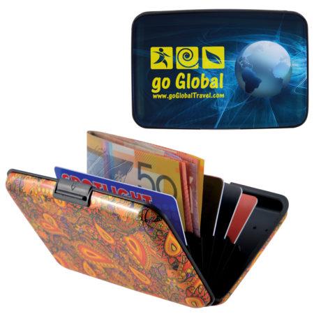 Aluminium Weekend Promotional Wallet Purse