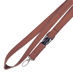 Faux Leather Promotional Lanyards