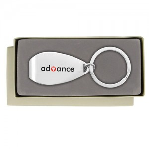 The April Branded Keychain