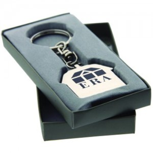 Promotional Keychain in Box.