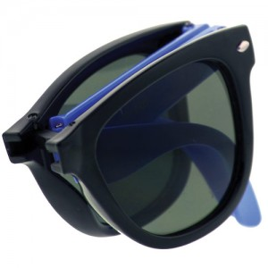 Collapsible Frame Retro Sunglasses