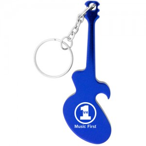 Guitar Keychain - Blue