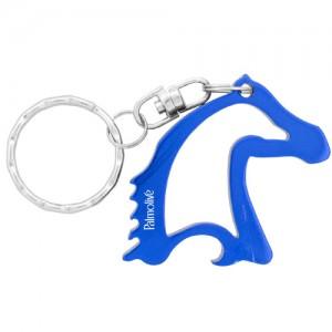 Horse Head Bottle Opener - Blue