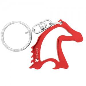 Horse Head Bottle Opener - Red