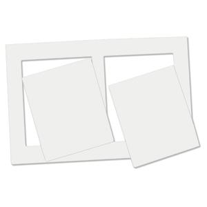 Custom Side by Side Magnetic Photo Frame