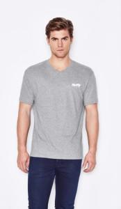 Men's Euro Style V-neck T-Shirt