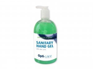 Push Pump Sanitiser with Aloe 500ml