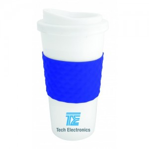 The Coffee Cup Tumbler - Blue