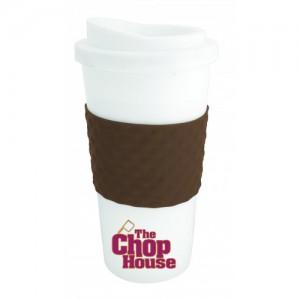 The Coffee Cup Tumbler - Brown
