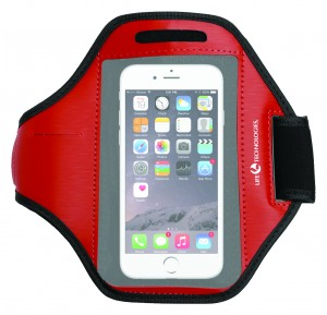 The Smart Phone Arm Band - Red