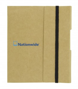 Small Tuck Journal Book - Tan