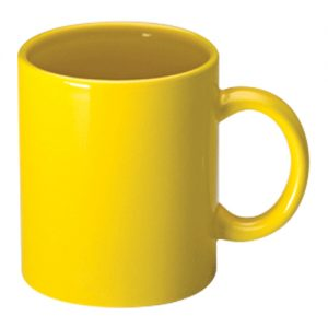 Yellow Can Mugs