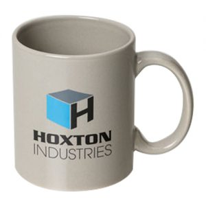 Grey Can Mugs With Logo