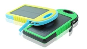 Solar Power Bank and LED Torch