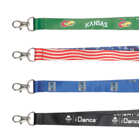 Custom printed lanyards for corporate events