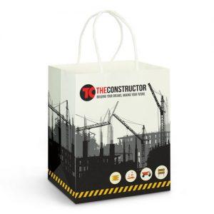 Medium Paper Carry Bag - Full Colour