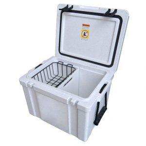 White Promotional Ice Box